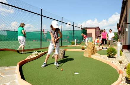 Adventure mini golf Kunratice