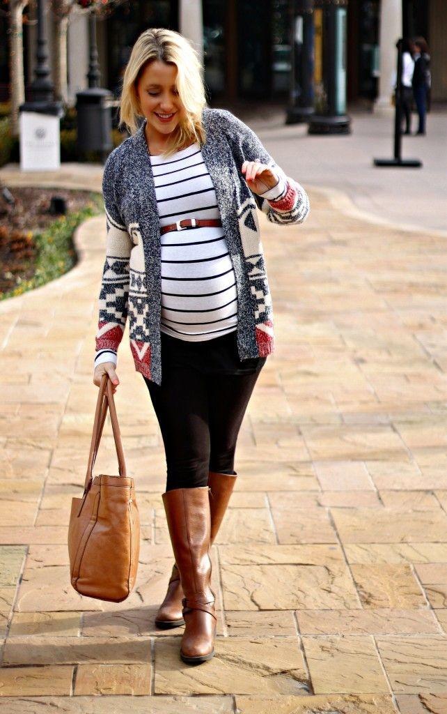 Těhotenská móda – i s bříškem můžete být šik